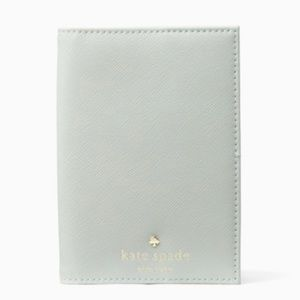 Kate Spade Mikas Pond Misty Mint Passport Holder